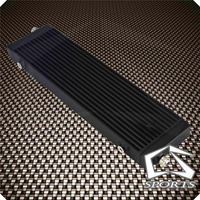 Universal Large Bar and Plate Single Cross Flow Oil Cooler 18.5