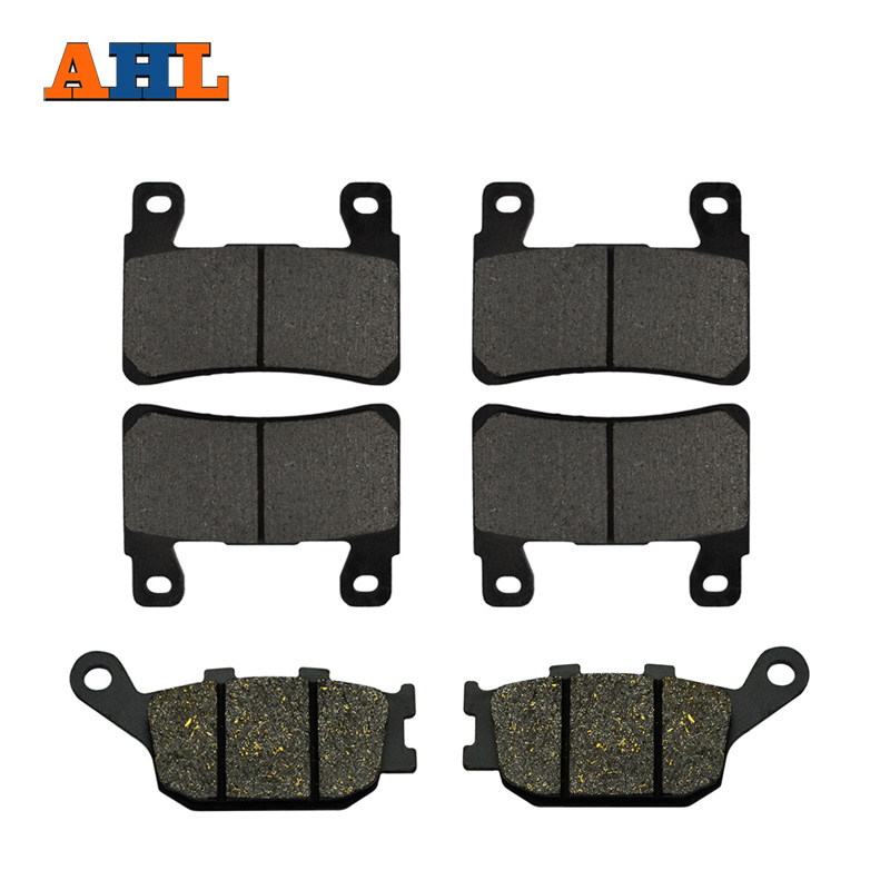 6pcs Motorcycle Front and Rear Brake Pads For Honda CBR 600 F4 F4i CBR929 CBR954 FIREBLADE CBR900 RR VTR 1000 SP-1 (SP45) CB1300(China)