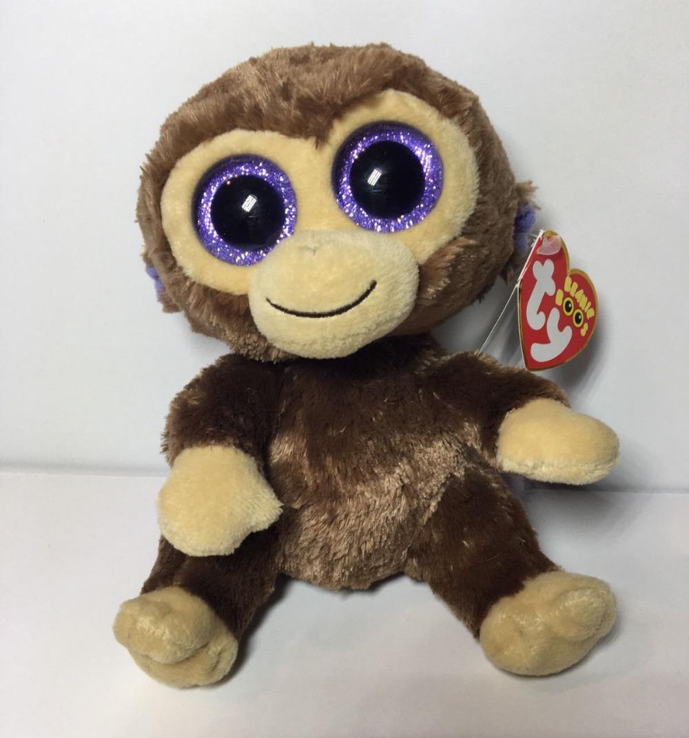 d187a65d818 2019 Ty Beanie Boos 20 50cm Coconut The Monkey Large Plush Stuffed ...