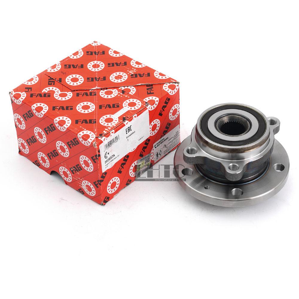 Front Wheel Hub Axis Bearing Assembly For VW Jetta Golf GTI Tiguan Passat AUDI A3 TT