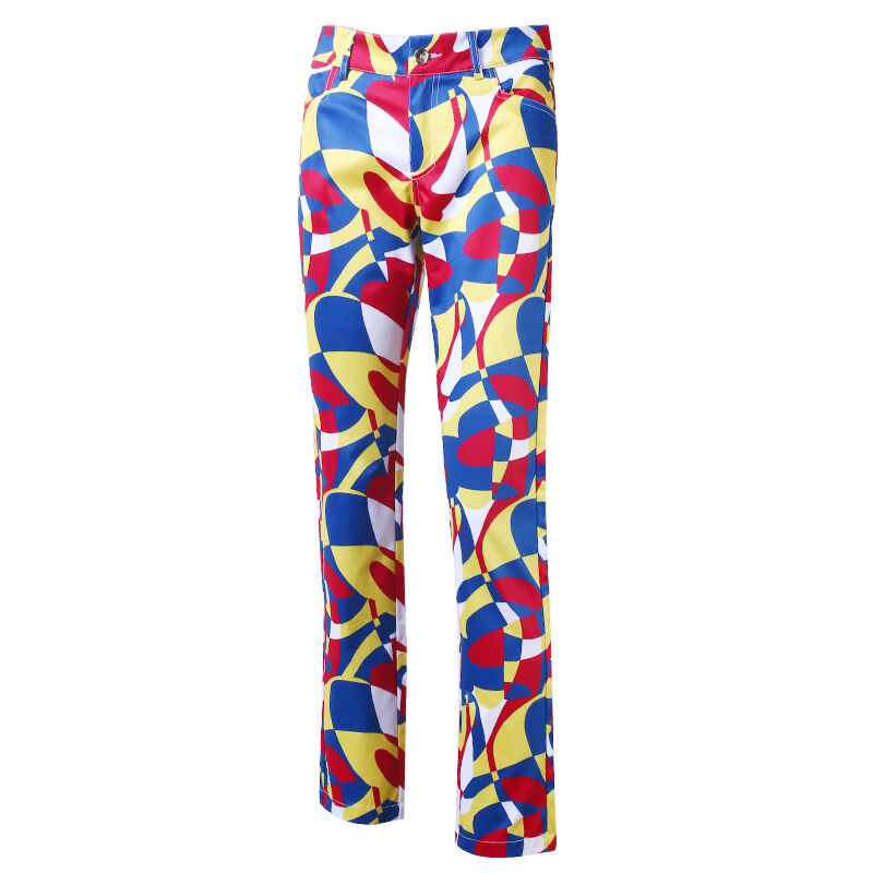 Hottest Brand PGM Korean Women Golf Trousers Female Golf Printing Pants High Quality Soft Breathable Quick Dry Breathble Clothes цена