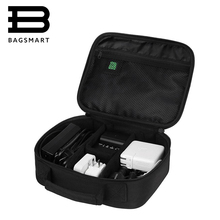 BAGSMART Дата Кабель Цифровых Аксессуаров Отделочных Мешок Данных Зарядного Провода Сумка Для Хранения Mp3 Наушники Usb Flash Drive Мешок Устроителя