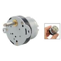 5Pcs/Lot X 40mm DC 12V 2RPM High Torque Electric Gearbox Motor New