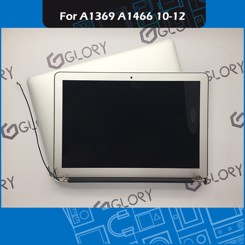Genuine A1369 A1466 LCD Screen Assembly for Macbook Air 13 inch Display Complete Assembly Replacement 2010