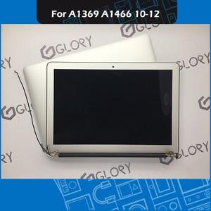 Image 1 - Orijinal A1369 A1466 LCD ekran meclisi Macbook Air 13 inç için ekran komple meclisi yedek 2010 2011 2012 yıl