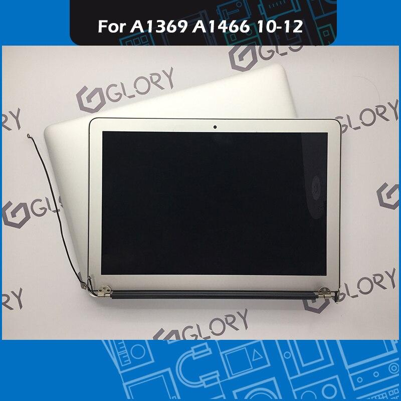 Véritable A1369 A1466 LCD Assemblée D'écran pour Macbook Air 13 pouce Affichage Remplacement de L'assemblée Complet 2010 2011 2012 Année