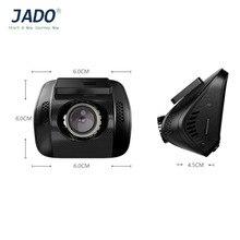 JADO Cámara Dashcam D770S Mini Coche DVR 2.0 Pulgadas de Pantalla Ancha Full HD Cámara Del Coche Auto 1080 P Vehículo Cámara Grabadora de Vídeo F2.0 DVR