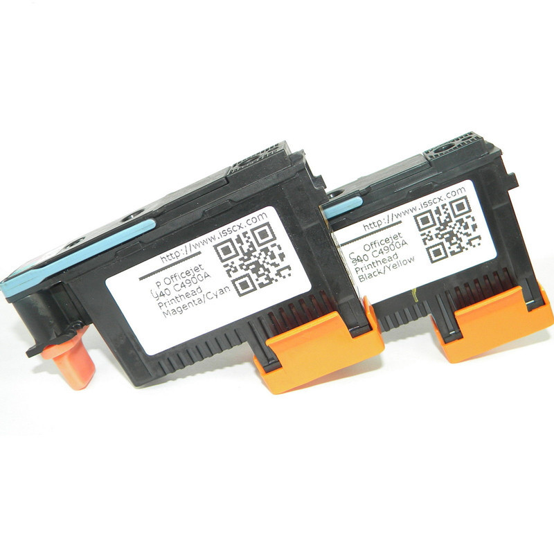 2-Pack 940 PRINTHEAD Print Head C4900A /& C4901A for HP OfficeJet Pro 8000 8500
