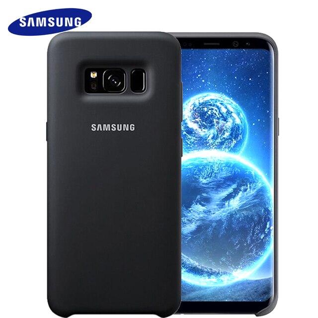 Samsung S8 S8 плюс Чехол для S8 G9550 9500 силикон Защитная крышка Мягкая анти-износ защитный чехол 100% оригинал