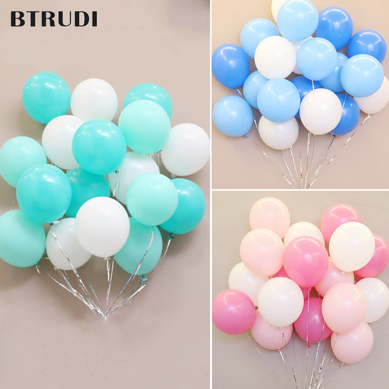 BTRUDI wedding latex balloon 10 39 39 15pcs wedding room decorated with latex balloon birthday party activities of the matte balloon in Ballons amp Accessories from Home amp Garden