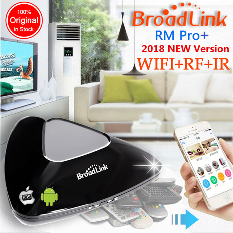 Broadlink RM PRO Smart Home Wireless Remote Control Switch Support IOS Android Wifi IR RF Intelligent