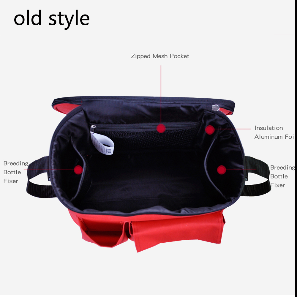 Купить с кэшбэком Thermal Insulation Diaper Bag For Strollers  Waterproof Maternity Baby Nappy Care Bags Mommy Stroller Bags