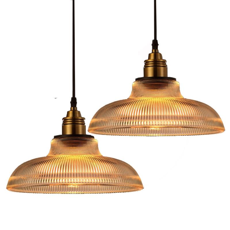 Nordic Country Pendant Lights Glass Lamp Kitchen Bar Modern Simple Hanging lamp Led luminaria Loft lustre pendente DIA 30cm