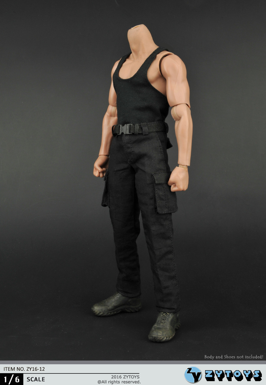 1:6 Scale Male Figure clothes Accessory Vest+Pants Rambo Combat uniforms for 12 Action figure doll,not include body and weapon