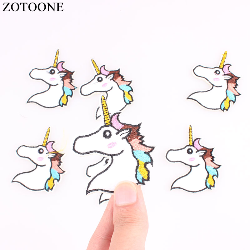 Supply New Arrival 10 Pcs Animal Head Embroidered Cartoon Patch Iron On Applique Garment Hat Bag Shoe Decor Repair Diy Accessory Patches