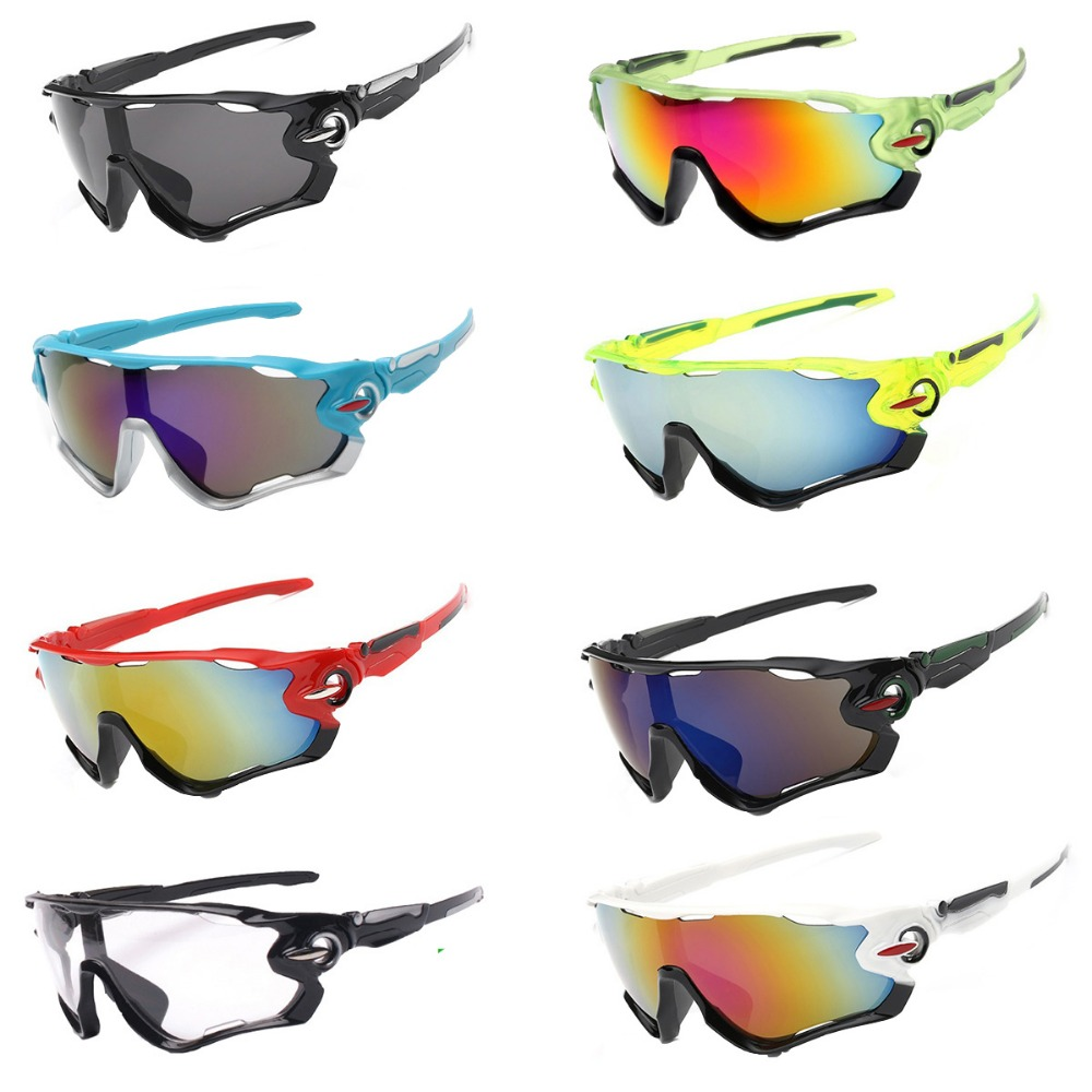 17 Styles Unisex Bike Sunglasses Comfortable Cycling Glasses Fishing Eyewear Ciclismo Sport Sunglasses Bicycle Goggles For MTB