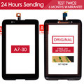 ORIGINAL TESTED 7.0 inch Touchscreen For Lenovo A7-30 Touch Screen A3300 Digitizer Assembly Panel Black Free Adhesive