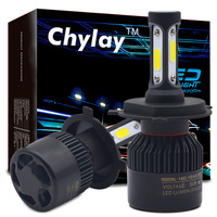 1Set Car Led Headlights Bulb H4 Led H7 H11 H8 H9 H1 H3 9005 9006 COB