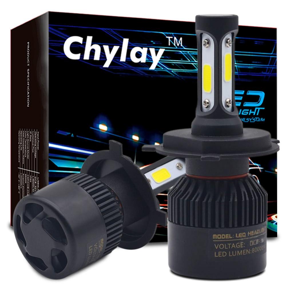 Ein Satz H7 Led H4 H1 H3 H11 H13 9005 9006 9007 881 LED Auto Scheinwerfer 72 Watt 8000LM Automobil Kopf Nebelscheinwerfer Lampe 6500 karat