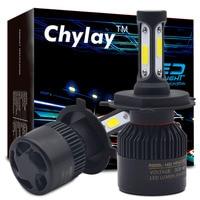 1Set Car Led Headlights Bulb H4 Led H7 H11 H8 H9 H1 H3 9005 9006 COB