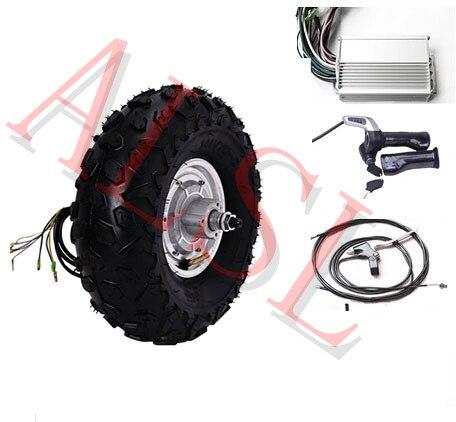 Kit de scooter électrique de moteur de moyeu de roue électrique 14.5