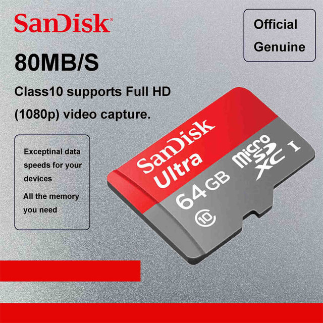 3826557f0 SanDisk Ultra micro SDHC micro SDXC UHS-I Memory Card 16GB micro SD card