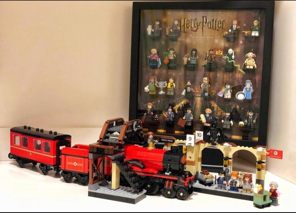 16055 Harri Potter Toys Compatible with Legoing 75955 Hogwarts Express Set Building Blocks Bricks Kids Toys Christmas Gift