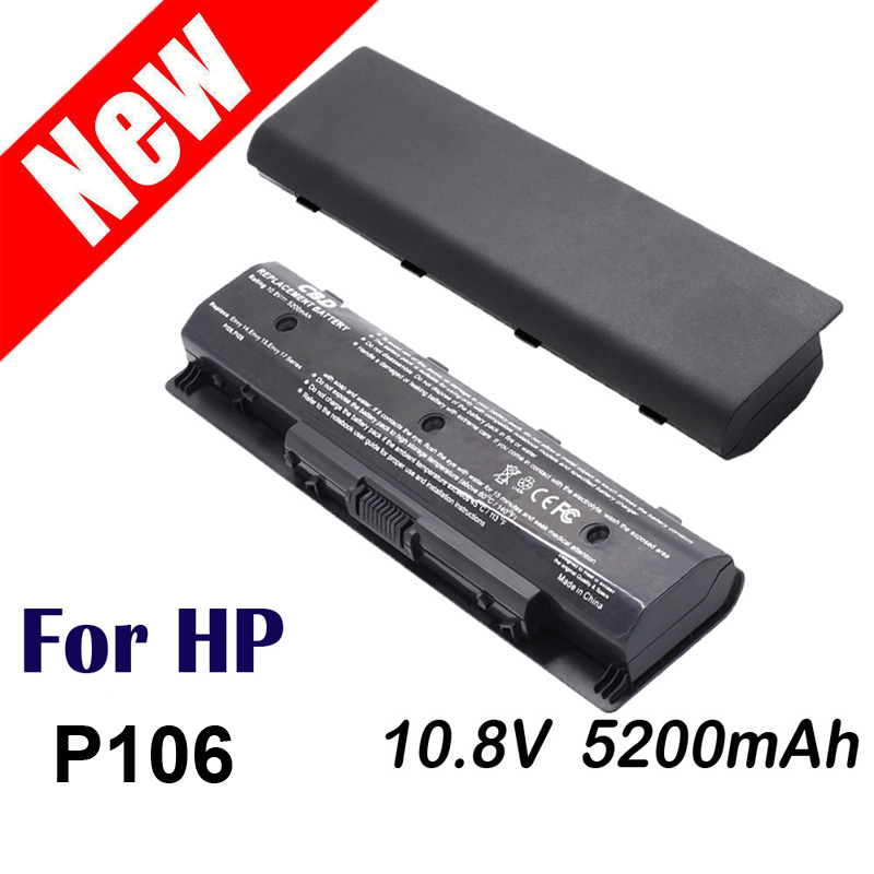 Replacement laptop battery For HP ENVY P106 PI06 PI06XL PI09 14 15 17 TouchSmart 17z M7 HSTNN-LB4N HSTNN-YB4N HSTNN-YB4O HK03 p106 battery for hp pavillion 15 envy 15 spare hstnn lb4n hstnn lb4o hstnn ub4n hstnn ub4n