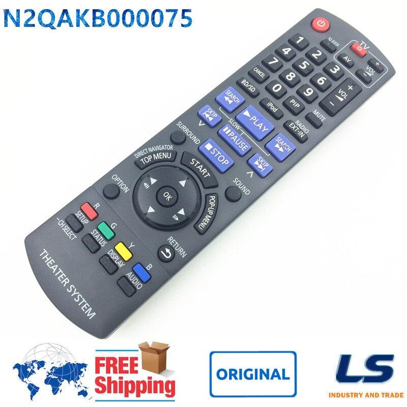 ORIGINAL Remote Control N2QAKB000075 FOR Panasonic SC-BTX75 SA-BT203 SA-BT300 SA-BTX20 <font><b>Blu-ray</b></font> <font><b>Disc</b></font> <font><b>Home</b></font> Theater System