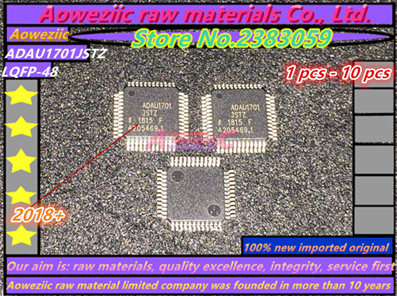 100% New Imported Original Adau1701jstz-rl Adau1701jstz Adau1701 Lqfp-48 28/56 Bit Audio Processor Reputation First Obliging Aoweziic 2018 dsp
