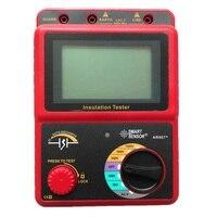 스마트 센서 ar907 + 50 v-1000 v 디지털 고전압 절연 저항 테스터 미터 전압계 메가 테스트 멀티 미터