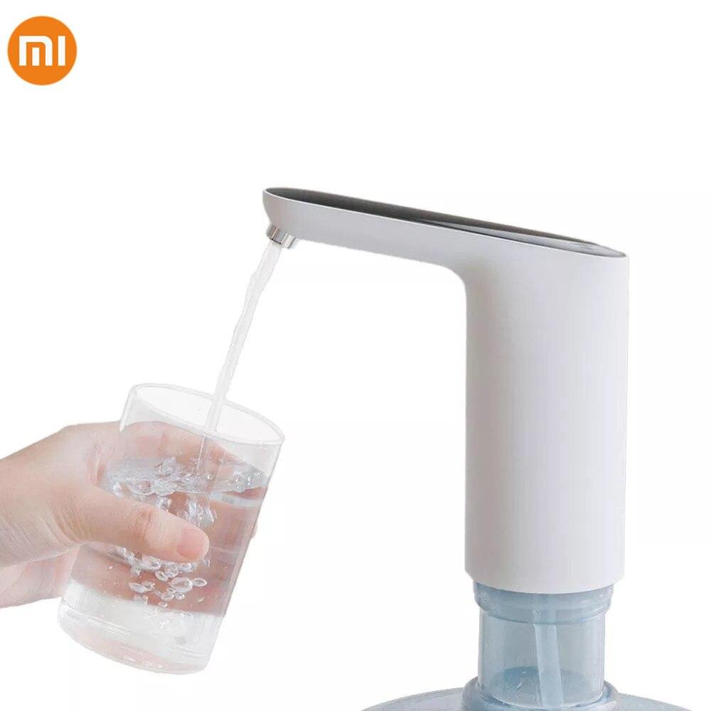 Novo xiaomi 3 vida usb mini interruptor de toque automático bomba água dispensador elétrico recarregável sem fio bomba água com cabo usb