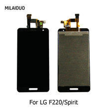 LCD Display For LG Spirit GK F220 F220K Touch Screen Digitizer Full Assembly Replacement Black No/with Frame Repair Parts new for lg g pad 10 1 v700 vk700 lcd display digitizer touch screen glass assembly black repairment parts