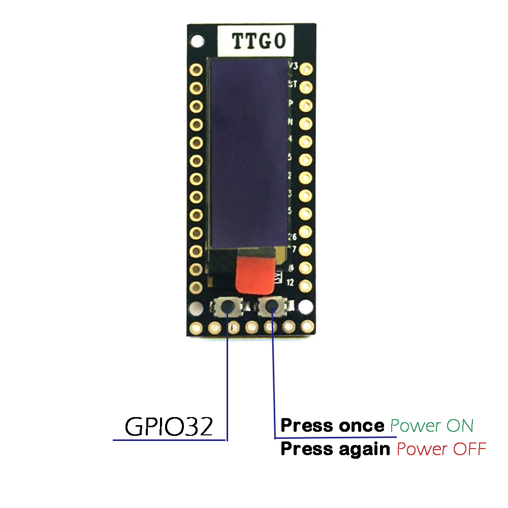 US $10 5 |TTGO ESP32 TQ 0 91 OLED WIFI Module bluetooth IoT Prototype Board  for Arduino development tools-in Replacement Parts & Accessories from