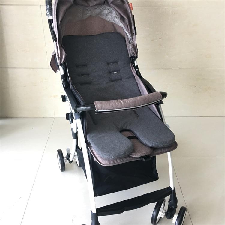 5 Stlys Cotton Polyester Baby Stroller Cushion For Stroller Seat, - ბავშვთა საქმიანობა და აქსესუარები - ფოტო 5
