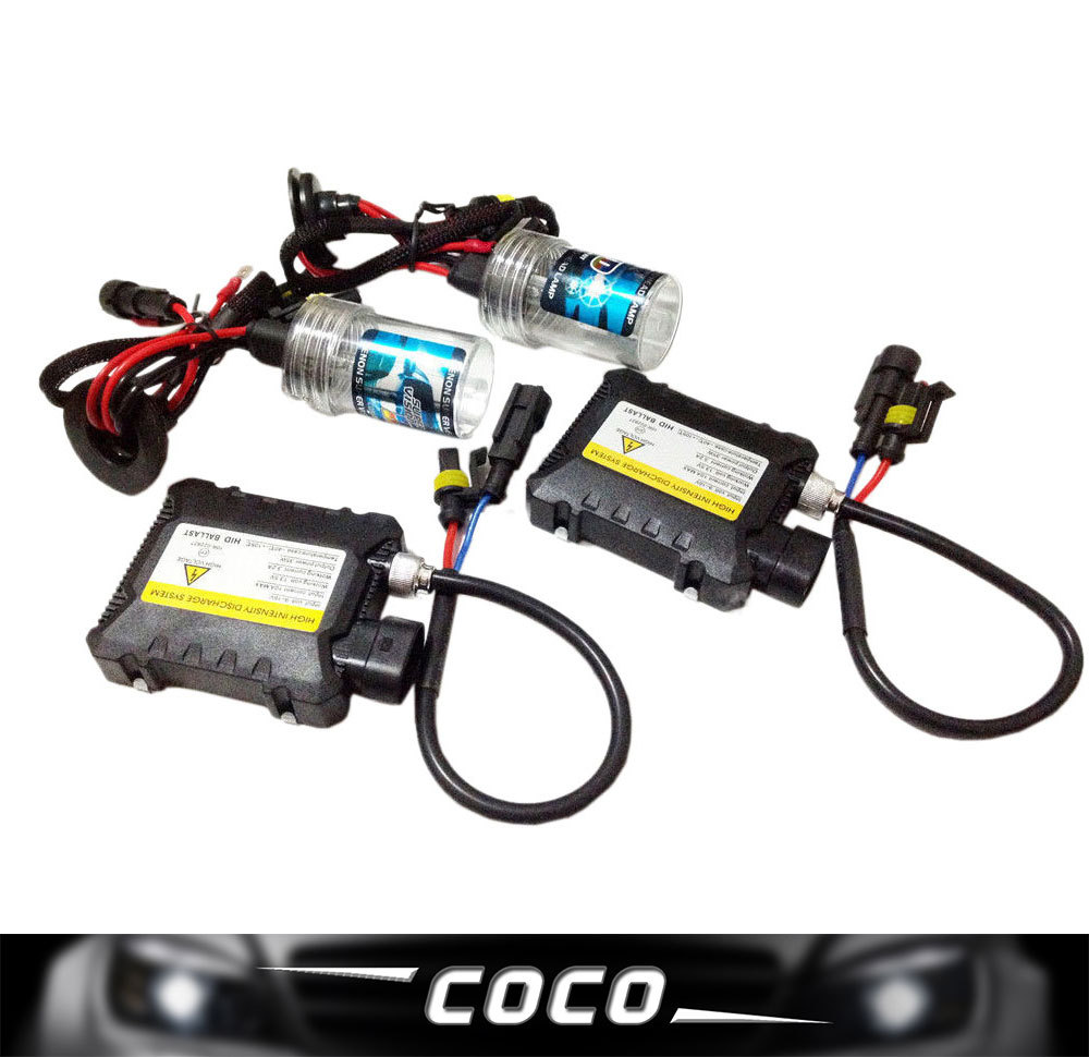 цена на Wholesale Slim ballast HID kit 9004-1/9007-1 AUTO CAR lamp HID KIT 12v 35w color 3000k,4300k,6000k,8000k,10000k,12000k