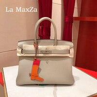 2017 Fashion Luxury Brand Runway Head Layer Leather Bag Jacket High End Ladies Handbag CL702215