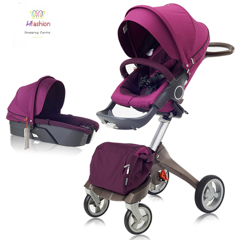 Baby Stroller Summer Luxury Baby Stroller Car Seat Bassinet