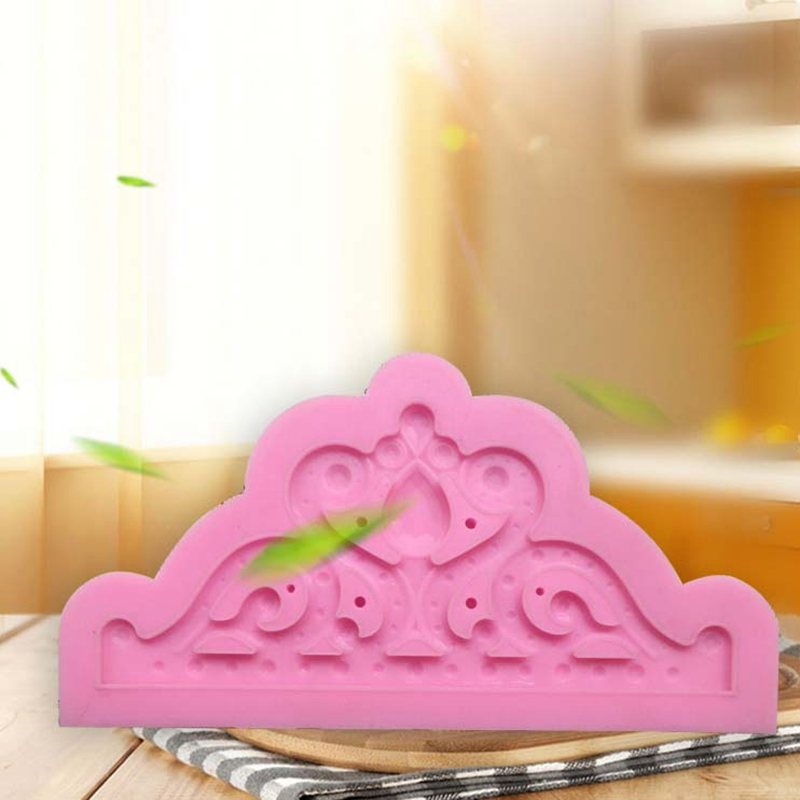 Larger Size Crown Shapes Silicone Sugarcraft Moulds Fondant Cake Decorating Tools Silicone Soap Moulds