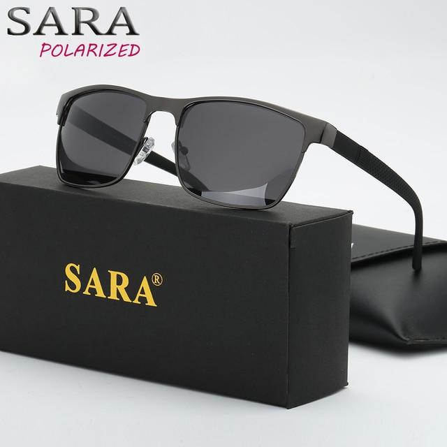 8cdc2204e359 Men Polarized Glasses Car Driver Goggles Frame Metal Polarizer Sunglasses  Polarized Driving Sun Glasses Oculos Gafas Moda 2018