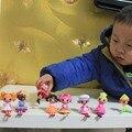 1 unid de 3 pulgadas Mini Muñecas Lalaloopsy Figuras de Acción de Juguete Jugar a las Casitas para Niños Niñas