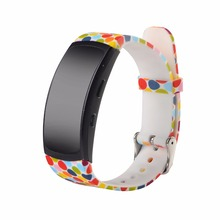 Colorful bracelet strap for Samsung Gear Fit 2 R360 strap Samsung Gear Fit 2 pro R365 replacement wrist strap silicone wristband цена