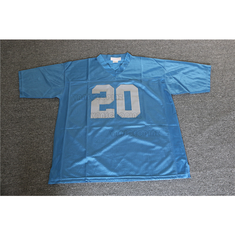 barry sanders stitched jersey