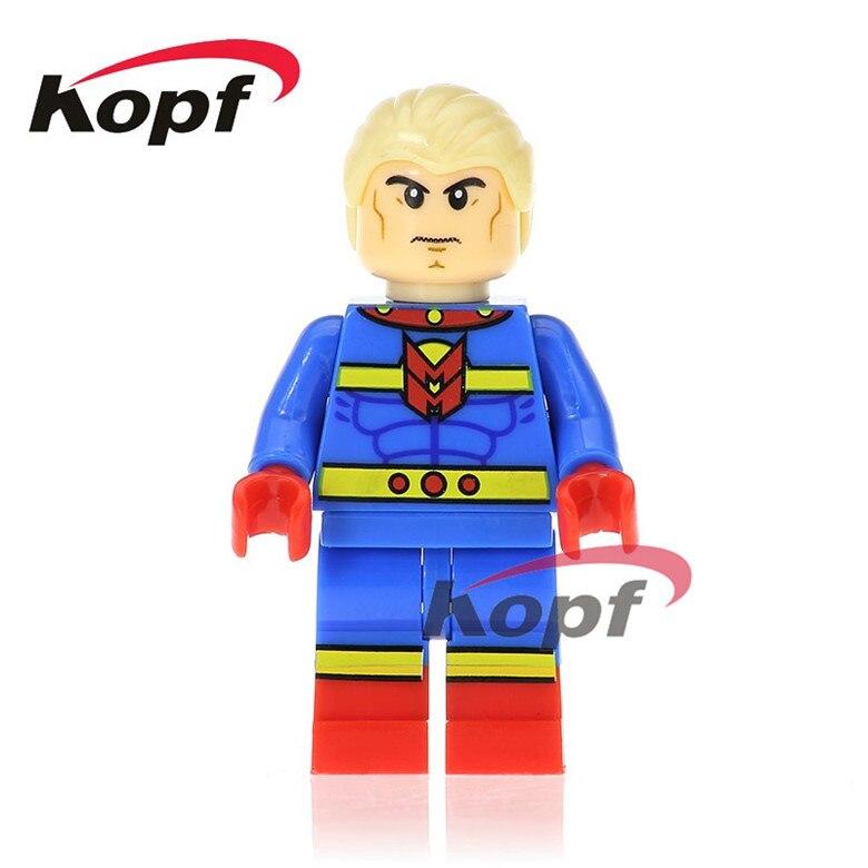 50Pcs XH 672 Super Heroes Justice League Miracleman Batman Bizarro Superman Bricks Education Building Blocks Children Gift Toys