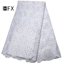 African Lace Fabric 2019 High Quality Swiss Voile Lace In Switzerland Cord Lace For Nigerian Dress Cotton Lace Fabric F1668