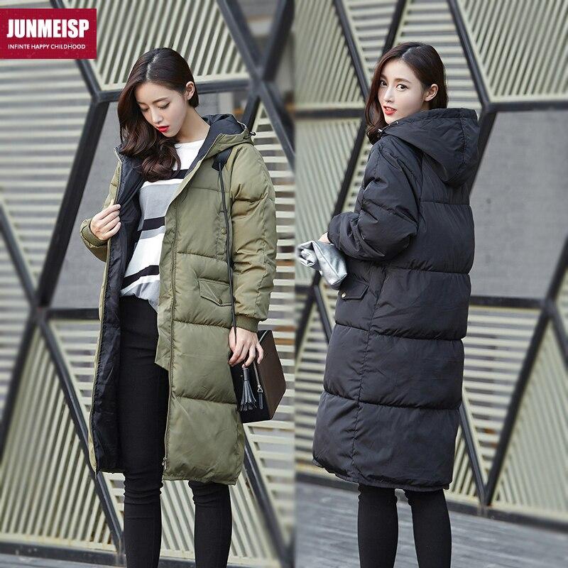 2015 Wadded Winter Jacket Women Black Medium-Long Plus Size 3XL Lady Thickening Casual Down Wadded Winter Coat Women Parka H5512 цены онлайн