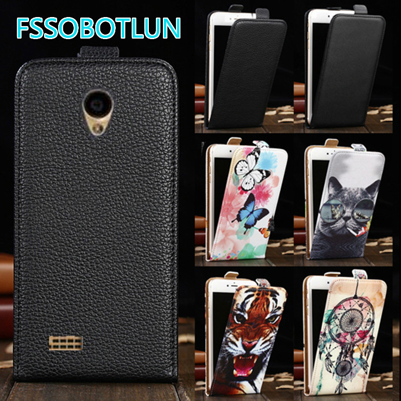FSSOBOTLUN For <font><b>Alcatel</b></font> <font><b>OneTouch</b></font> <font><b>Go</b></font> <font><b>Play</b></font> <font><b>7048X</b></font> Case Quality Cartoon Painting vertical phone bag flip up and down PU Leather Cover image