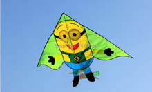 Minions Kite with Ripstop Handle for Children