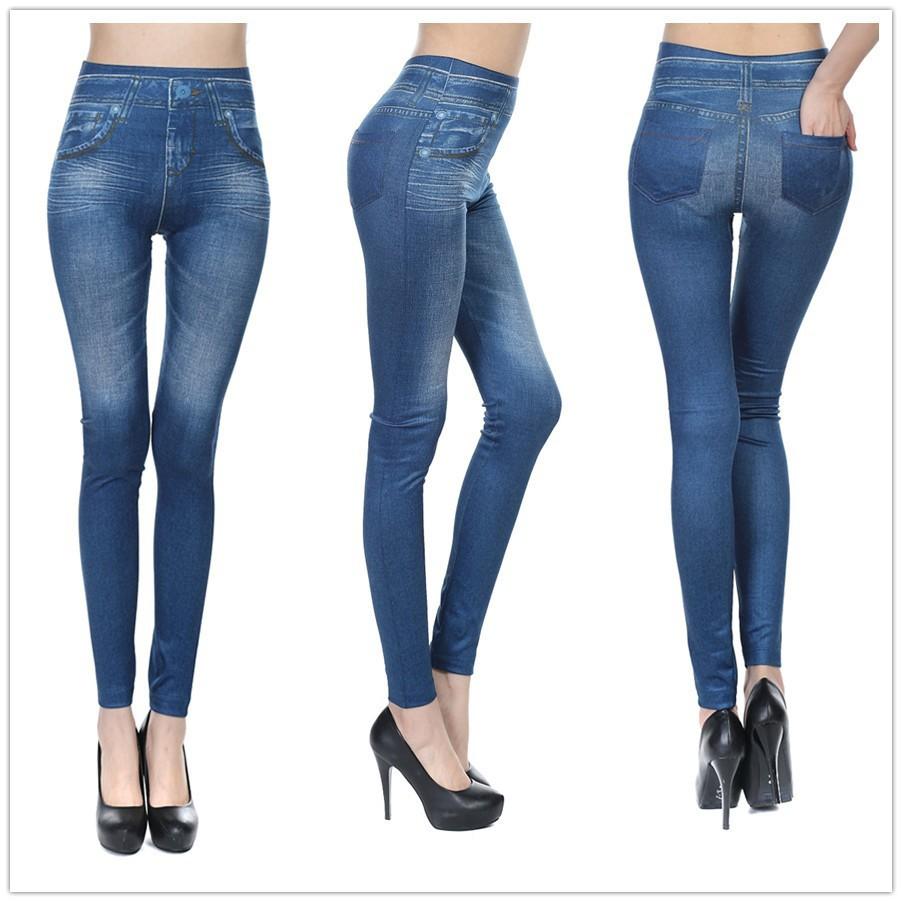 2fb94d9d751ac Plue Size XL XXL Women Fleece Lined Winter Jegging Jean Hot Sale ...