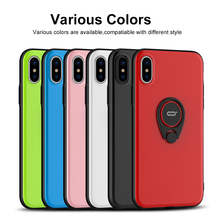 iPhone X ring case cover with ring holder back protector